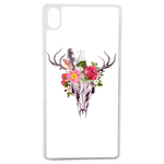 Coque Rigide Graphique Skull Fleur Animal Pour Apple Iphone X