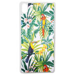 Coque Rigide Pour Apple Iphone Xs Motif Feuillage Tropical Toucan