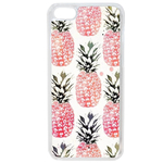Coque Rigide Pour Apple Iphone 5c Motif Ananas Rose Vintage