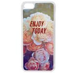 Coque Rigide Pour Apple Iphone 5c Motif Enjoy Fleur Vintage