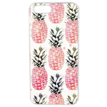 Coque Rigide Pour Apple Iphone 5 - 5s Motif Ananas Rose Vintage