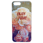 Coque Rigide Enjoy Fleur Vintage Pour Apple Iphone 5G