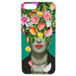 Coque Rigide Pour Apple Iphone 5 - 5s Motif Frida Kahlo 2 Vintage