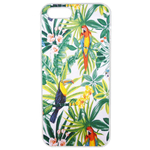 Coque Rigide Pour Apple Iphone 5 - 5s Motif Feuillage Tropical Toucan