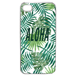 Coque Rigide Feuillage Tropical Aloha Pour Apple Iphone 4G