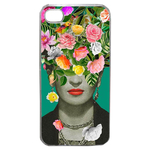 Coque Rigide Pour Apple Iphone 4 - 4s Motif Frida Kahlo 2 Vintage