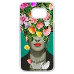 Coque Rigide Pour Samsung Galaxy S6 Edge Motif Frida Kahlo 2 Vintage