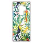 Coque Rigide Feuillage Tropical Toucan Pour Samsung Galaxy S9