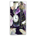 Coque Rigide Fleur Montre Vintage Pour Apple Iphone X