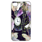 Coque Rigide Fleur Montre Vintage Pour Apple Iphone 4S