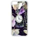 Coque Rigide Fleur Montre Vintage Pour Apple Iphone 5C