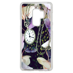 Coque Rigide Fleur Montre Vintage Samsung Galaxy S9 Plus
