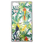 Coque Rigide Feuillage Tropical Toucan Pour Sony Xperia Z5 Compact