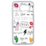 Coque Rigide Pour Samsung Galaxy S6 Motif Graphique Licorne Mix