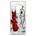 Coque Rigide Ange Ou Demon Pour Samsung Galaxy A8 2018