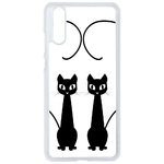 Coque Rigide Chat Duo Pour Huawei P20 Pro
