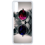 Coque Rigide Pour Huawei P20 Motif Chat Swag Humour