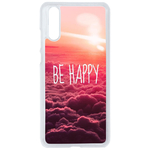 Coque Rigide Pour Huawei P20 Motif Be Happy Love
