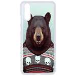 Coque Rigide Pour Huawei P20 Motif Animal Hipster Ours