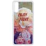 Coque Rigide Pour Huawei P20 Motif Enjoy Fleur Vintage