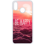 Coque Rigide Be Happy Love Pour Huawei P20 Lite