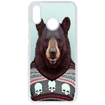 Coque Rigide Pour Huawei P20 Lite Motif Animal Hipster Ours