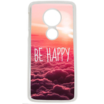 Coque Rigide Pour Motorola Moto E5 Motif Be Happy Love
