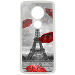 Coque Rigide Pour Motorola Moto E5 Motif Tour Eiffel Paris 1 France