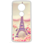 Coque Rigide Pour Motorola Moto E5 Motif Paris 2 Tour Eiffel France