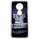 Coque Rigide Pour Motorola Moto G6 Play Motif Citation Femme 1 Humour