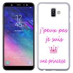 Coque Rigide Pour Samsung Galaxy J6 Motif J'peux Pas Je Suis Une Princesse