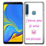 Coque Rigide Pour Samsung Galaxy A9 2018 Motif J'peux Pas Je Suis Une Princesse