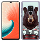 Coque Rigide Pour Huawei Mate 20 Motif Animal Hipster Ours