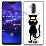 Coque Rigide Pour Huawei Mate 20 Lite Motif Chat Humour