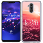 Coque Rigide Pour Huawei Mate 20 Lite Motif Be Happy Love
