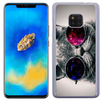 Coque Rigide Pour Huawei Mate 20 Pro Motif Chat Swag Humour