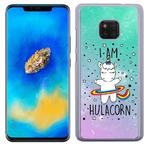 Coque Rigide Pour Huawei Mate 20 Pro Motif Je Suis HulaCorn Licorne