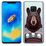 Coque Rigide Pour Huawei Mate 20 Pro Motif Animal Hipster Ours