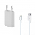 Chargeur Secteur + Cable Usb Apple Iphone 5 - 5s