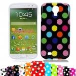 Etui Housse Coque Pois Polka Multicouleur Galaxy S4
