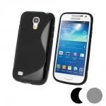 Coque Gel Vague S Pour Samsung Galaxy S4 Mini + Film