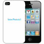 Coque 2d À Personnaliser Iphone 4 - 4s