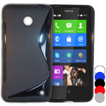 Coque Gel Vague S Pour Nokia Lumia 630 + Film