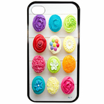 Coque Rigide Cupcakes Pour Apple Iphone 4 - 4s