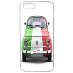 Coque Rigide Pour Apple Iphone 5 - 5s Motif Fiat 500 Italia