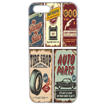 Coque Rigide Plaque Vintage Apple Iphone 5 - 5s