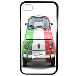 Coque Rigide Pour Apple Iphone 4 - 4s Motif Fiat 500 Italia