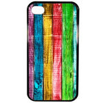 Coque Rigide Bois Multi Couleur Apple Iphone 4 - 4s
