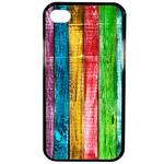 Coque Rigide Bois Multi Couleur Pour Apple Iphone 4 - 4s