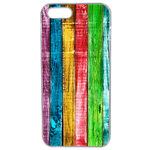 Coque Rigide Bois Multi Couleur Apple Iphone 5 - 5s